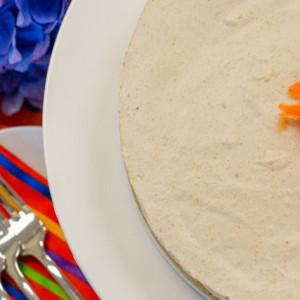 Raw Natural Carrot Cake